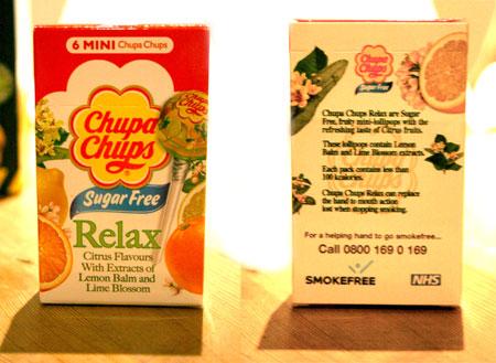 Relaxing Chupa Chups