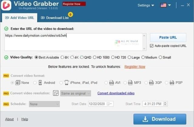 Auslogics-Video-Grabber- Crack Free-Download