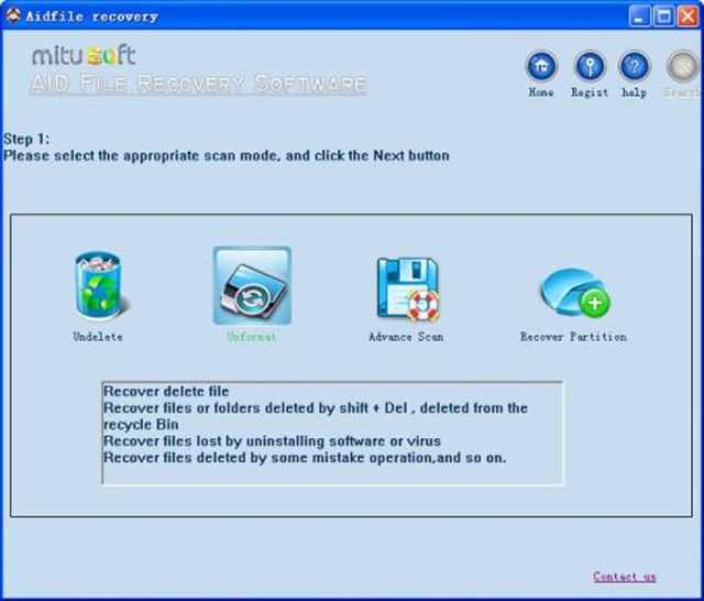 aidfile-recovery-software- Crack screenshot