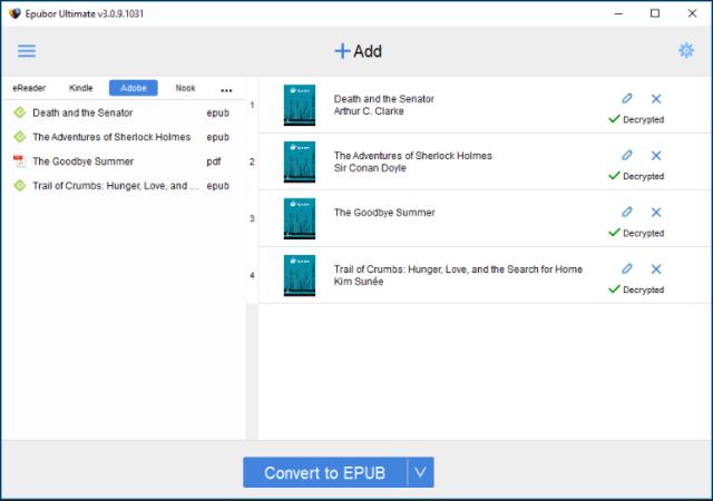 Epubor Ultimate Converter 3.0.13.120