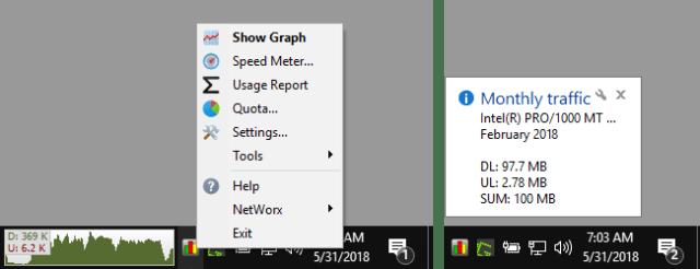 SoftPerfect NetWorx 6.2.9