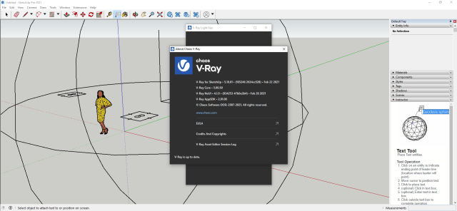 V-Ray for SketchUp License