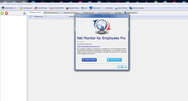 Network LookOut Net Monitor for Employees Professional 5.1.14 + Crack