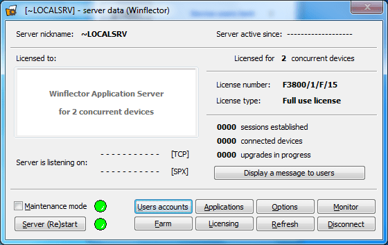 Winflector 3.9.8.3
