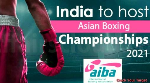 Asian boxing championships 2021
