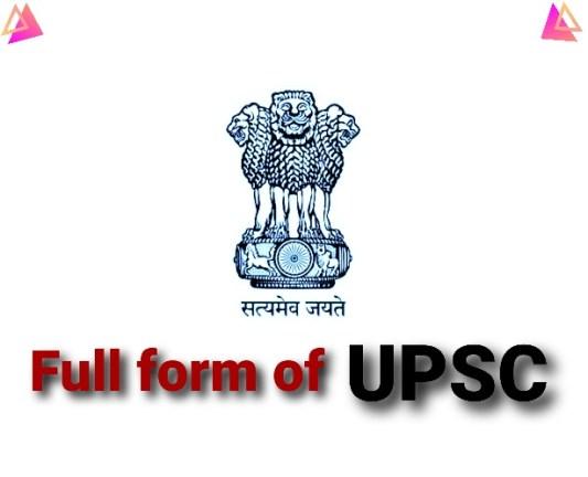 Full Form of UPSC