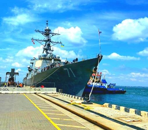 Ukraine and US launch Sea Breeze drills in black sea