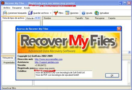 recover my files v3.98 username and license key
