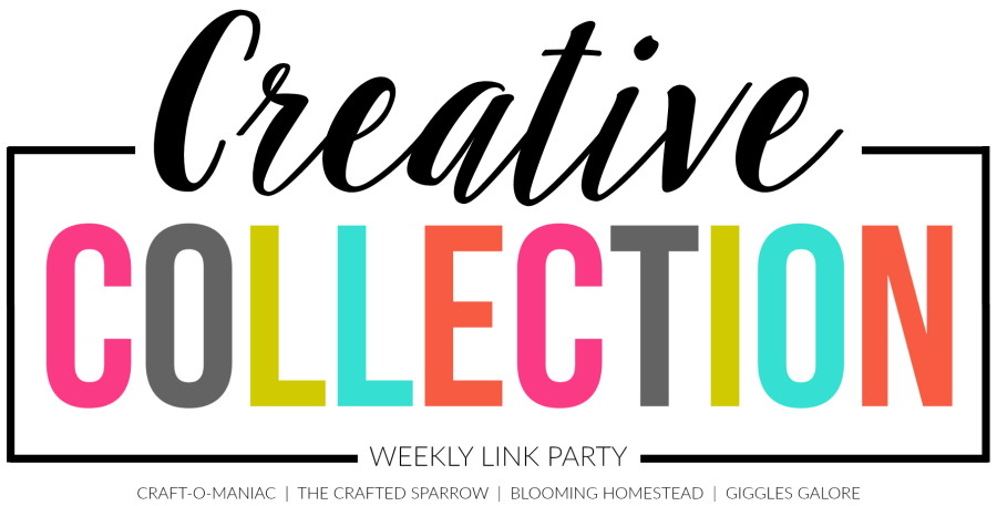 The Creative Collection Link Party on thecraftedsparrow.com | @bisforbookworm