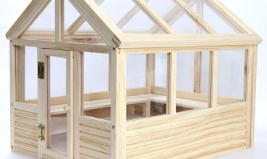 Wooden Greenhouse | Wooden Thing