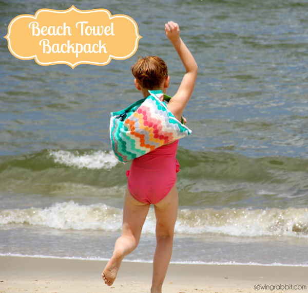 beach towel backpack