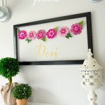 Craftaholics Anonymous Diy Felt Flower Garland Cut N Boss Giveaway