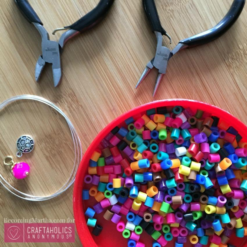 perler bead craft