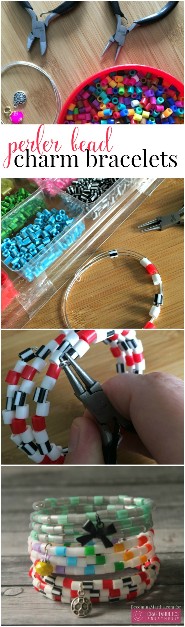 how to make perler bead bracelets