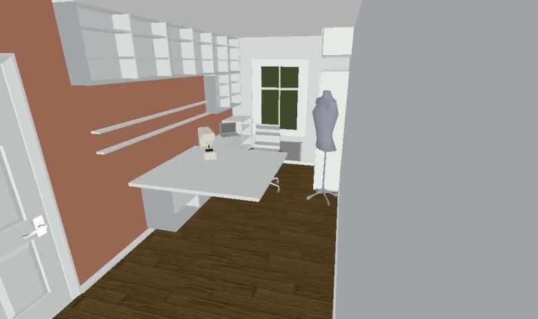 craft room layout