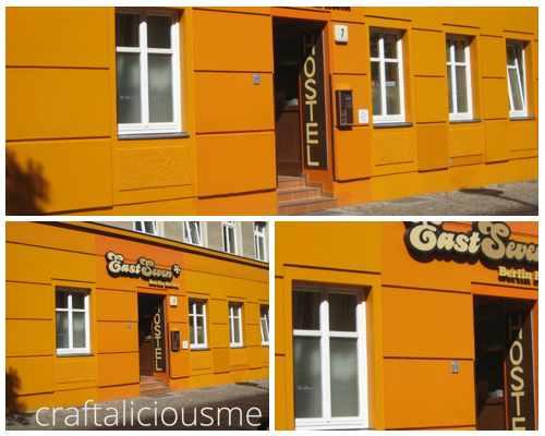 orange hostel in Berlin