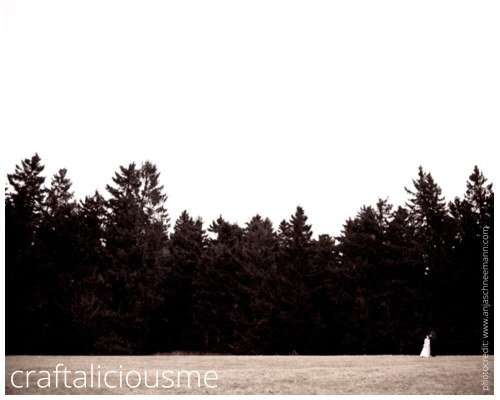 landscape wedding couple