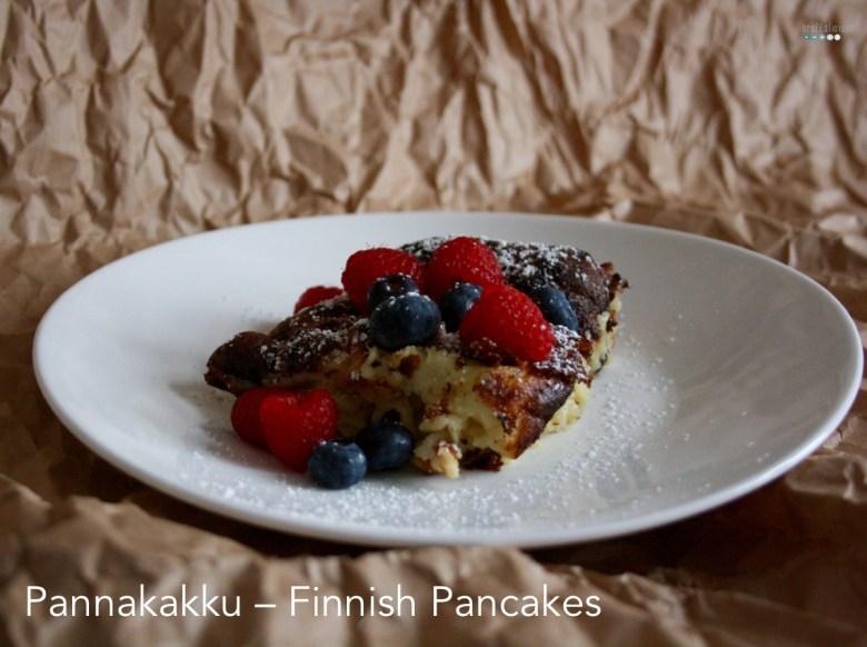 Pannakakku Finnish Pancakes
