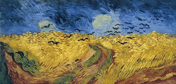 Van Gogh's Wheatfield with Crows