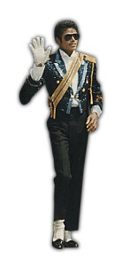 Michael Jackson in a fantastic outfit