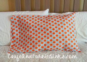 free pillowcase pattern standard queen