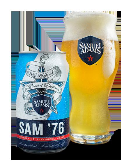 Craft Beer Spotlight: Sam Adams Sam '76 - Ale Meets Lager