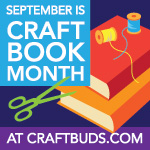 Craft Book Month at Craft Buds
