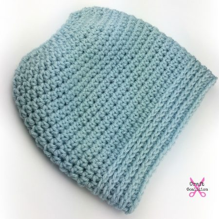 Simplicity Bun Hat, free crochet pattern by Celina Lane ...