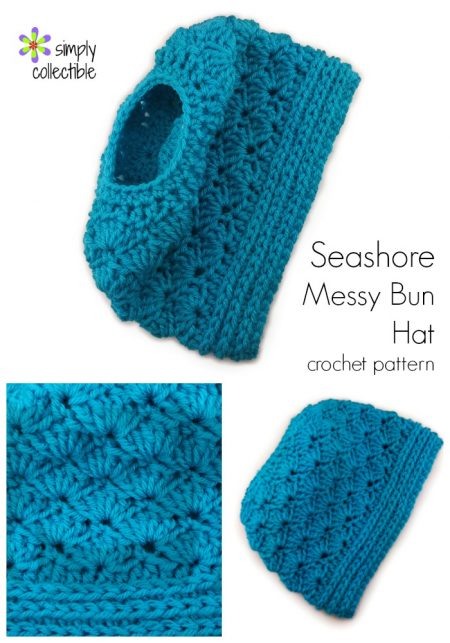 Crochet Patterns Messy Bun Beanie : Messy Bun Hat Phenomenon - 14 Free crochet patterns