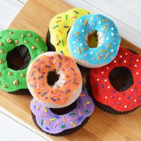 Crafts for Kids - Easy Donuts