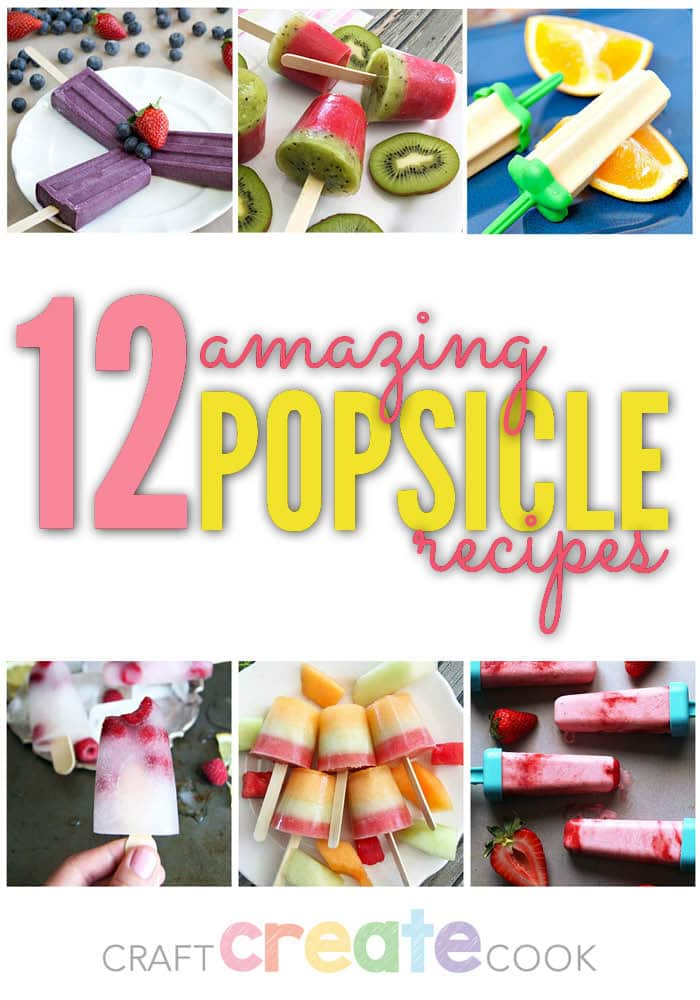 These 12 amazing popsicle recipes are delicious, easy to make and perfect for summer!