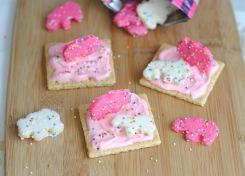 These Circus Grahams are fun, easy and delicious!