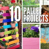 10 Unique DIY Pallet Projects