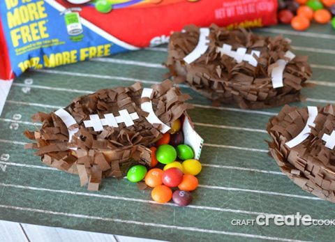 You need these mini pinatas for the next football party you host!