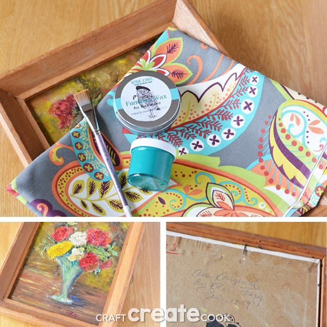 Our easy tutorial on how to make a homemade wall organizer is sure to bring order to your home!