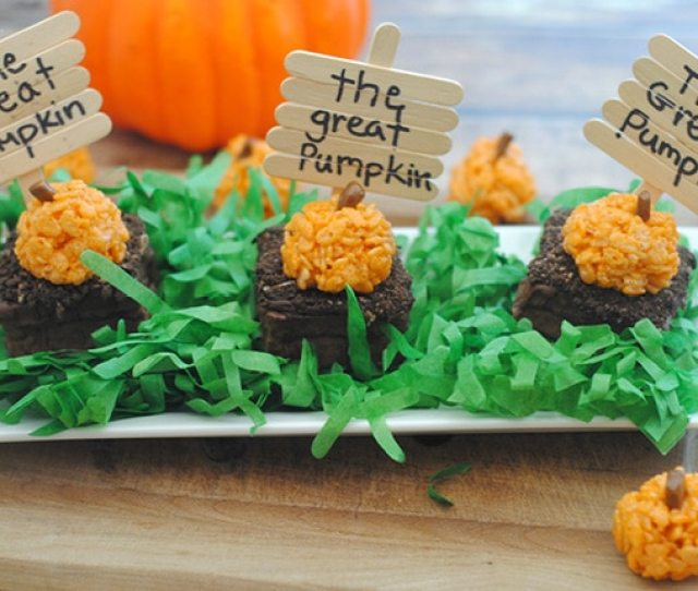 These Easy Pumpkin Patch Halloween Treats Are Perfect For Class Parties