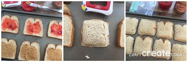DIY Uncrustable Sandwiches
