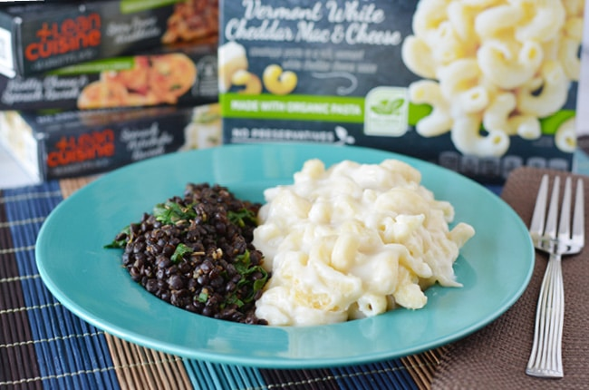 This easy black lentils and spinach recipe is one of my favorite healthy side dishes.