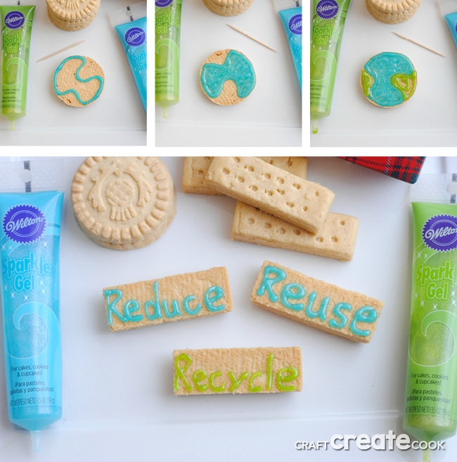 These easy springtime Earth Day cookies are a cinch to make and so delicious!