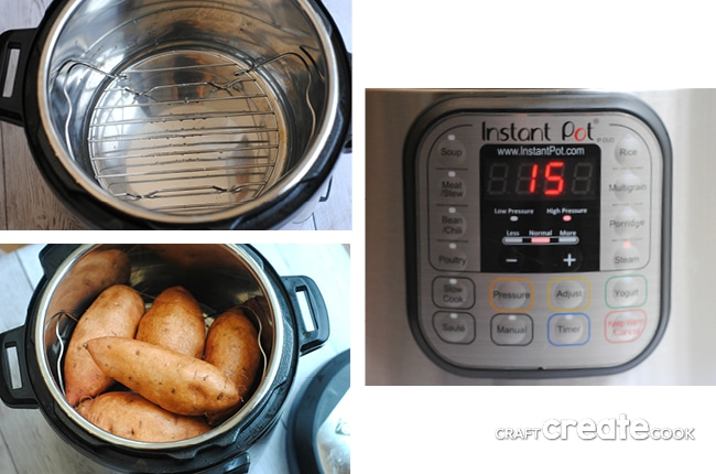 Instant Pot Sweet Potatoes are the perfect healthy side dish for any meal!