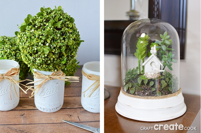 These 7 Spring Decorations are affordable, easy to make, and add seasonal decor to your home!