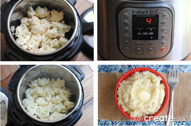 Keto Friendly Instant Pot Cauliflower is the perfect side dish for any meal!