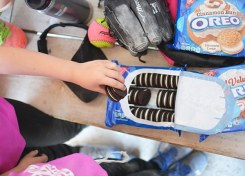 "Softball Snacks are ""wonderfilled"" with the help of OREO cookies."