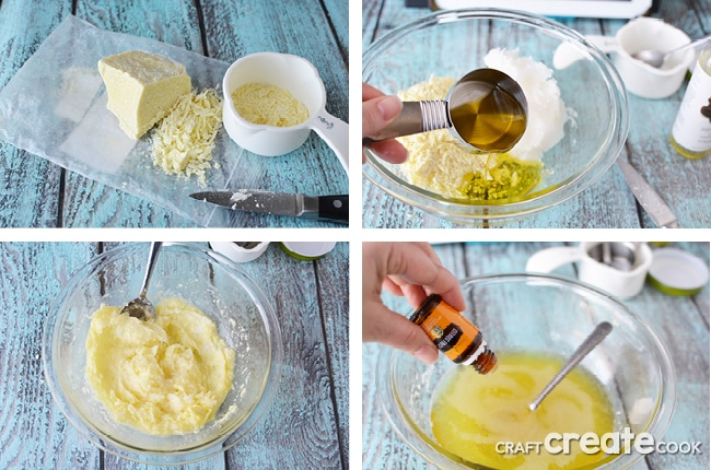 I'll show you how to make shaving cream using essential oils and a few simple ingredients. You'll have silky smooth legs in no time!