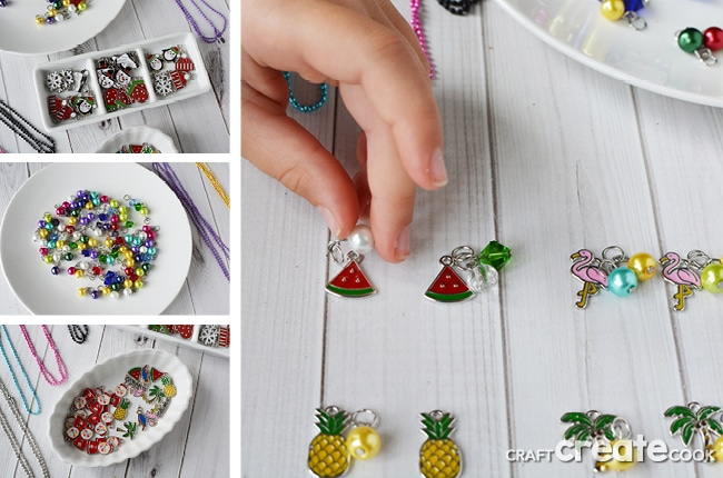 Craft Create Cook Making Necklaces Kids Craft Ideas To Sell