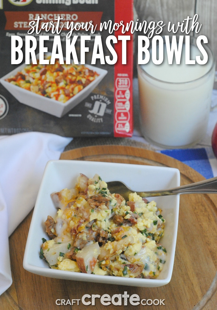 Start Your Mornings Off Right With Jimmy Dean 9 oz. Breakfast Bowls