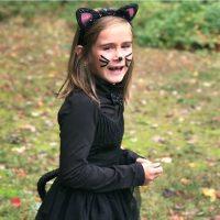 DIY Kids Kitty Cat Costume
