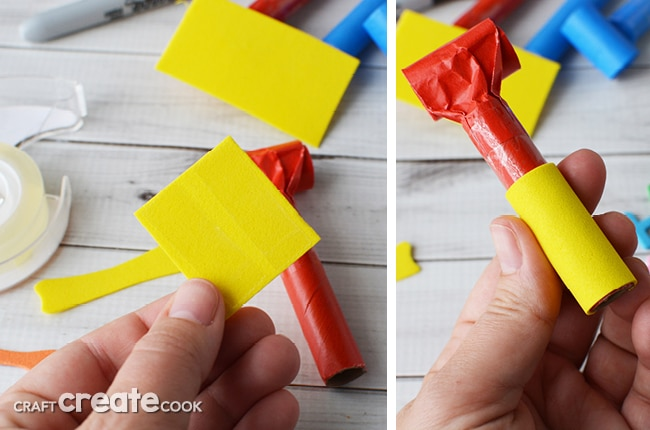 Let the kids use their imagination with our easy to make no sew finger puppets!