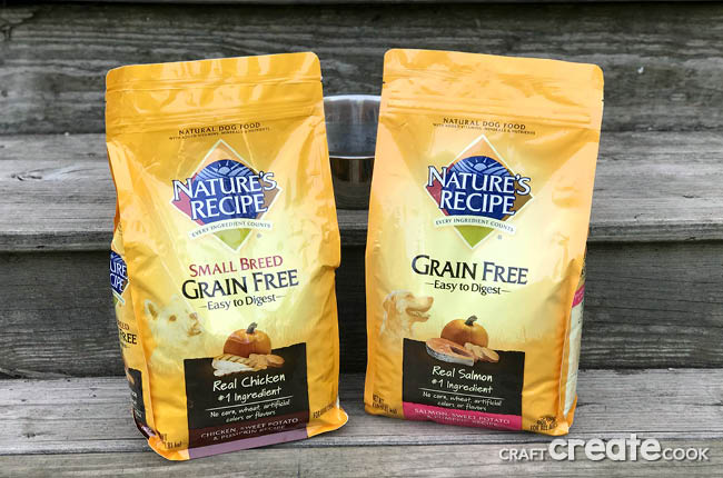 Dogs are man's best friend, treat them that way by giving them the best with Nature's Recipe Grain Free Dog Food!
