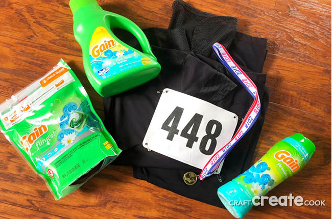 Learn how to run a 5K and still smell like victory with just a few simple steps and some great smelling laundry detergent